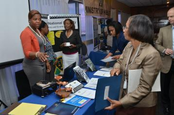 Trafficking in Persons event Shanoy Coombs