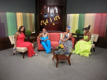 CVM at Sunrise Interview on High Tea for Charity Shanoy Coombs