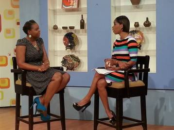 Shanoy Coombs on Smile Jamaica Interview around Jamaican Mommies and Parenting