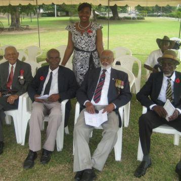 Celebrating Veteran's Day with World War 2 survivors